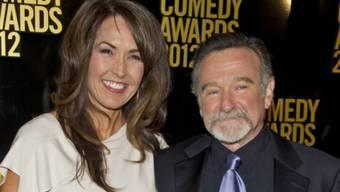 Robin Williams' dritte Frau Susan darf Souvenirs an ihren toten Gatten behalten (Archiv).
