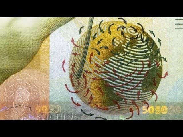 Die Sicherheitsmerkmale der neuen Noten in Kürze
