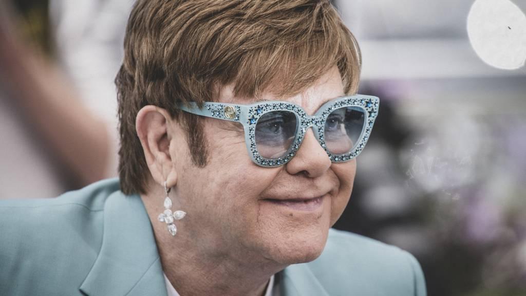 Elton John kommt ein letztes Mal in die Schweiz