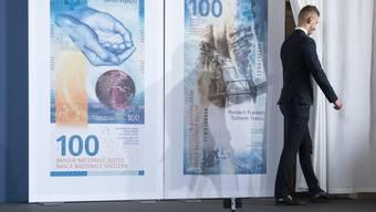 So sieht sie aus, die neue 100er-Note. Derzeit sind 134 Millionen Stück im Umlauf.