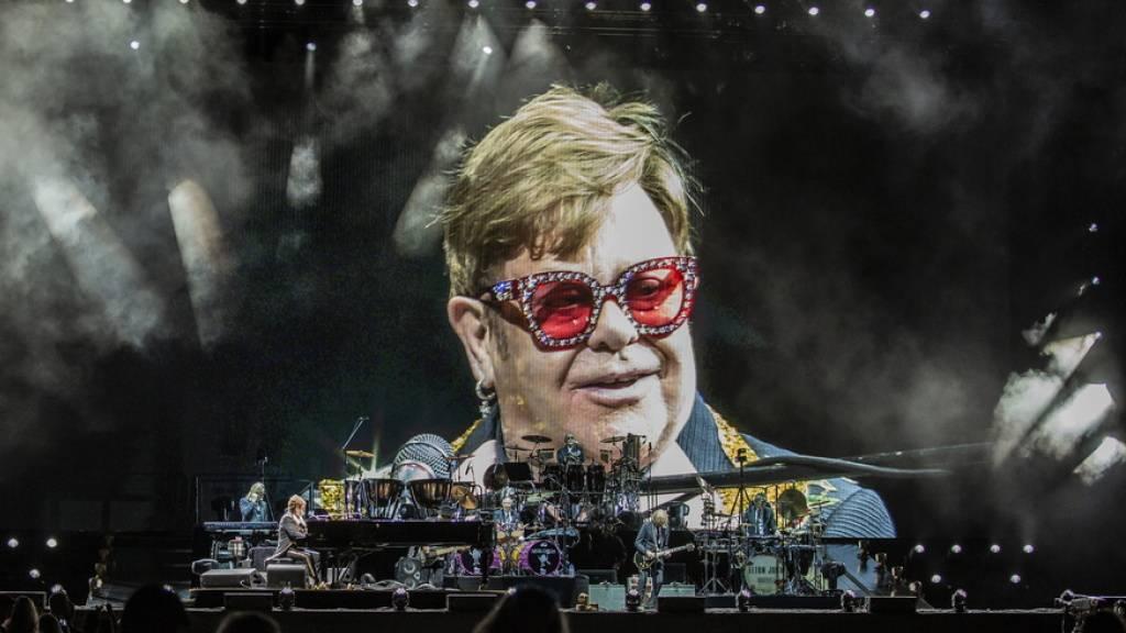 Elton John will sich auch von Bern verabschieden