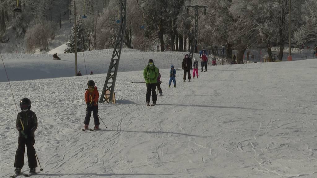 Ab auf die Piste: Solothurner Ski-Lifte sind wieder offen