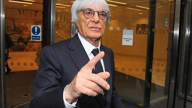 Formel-1-Boss Bernie Ecclestone in London