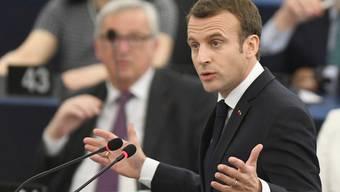 Für Emmanuel Macron ist der Erfolg politisch bedeutsam: Der französische Präsident kann nun gegenüber der deutschen Kanzlerin Angela Merkel selbstbewusster auftreten
