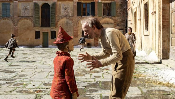 Viel Augenschmaus in Matteo Garrones «Pinocchio». Und Roberto Benigni als armer Vater Gepetto.