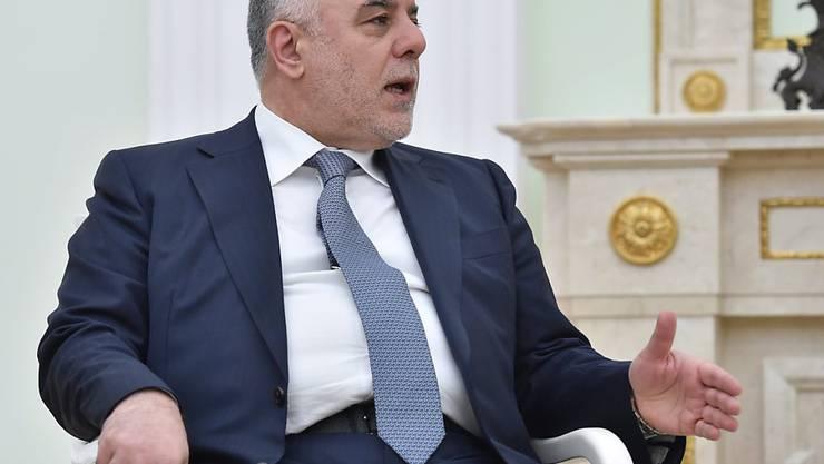 Iraks Regierungschef Haider al-Abadi (Archiv)
