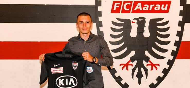 Im Sommer 2019 unterschreibt Liridon Balaj beim FCA einen Vertrag bis 2021