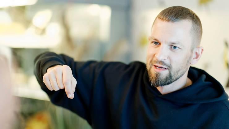 Stress: «Ich war unzufrieden mit meiner letzten Platte. Ich habe mich gefragt, wer dieser Typ ist, der da rappt.»  Bild: Andre Albrecht