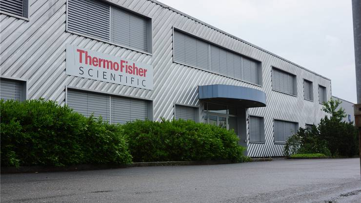 Das Fisher Scientific-Gebäude in Wohlen.