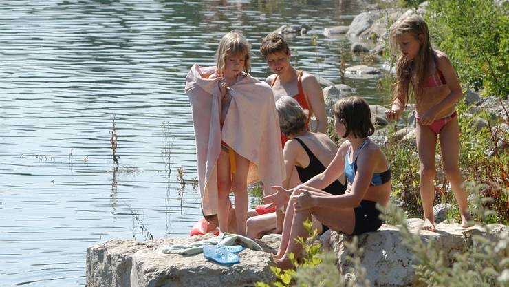 Gute Schwimmer sollen auch oberhalb des Kappisees ein- und aussteigen können.