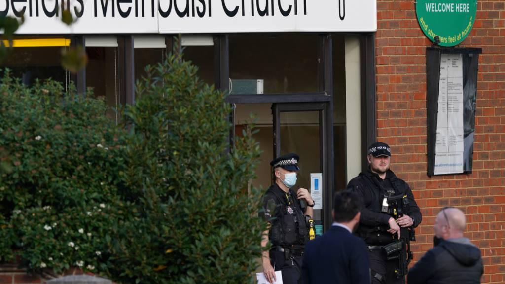 Ein Toter nach Messerangriff auf Abgeordneten in Grossbritannien
