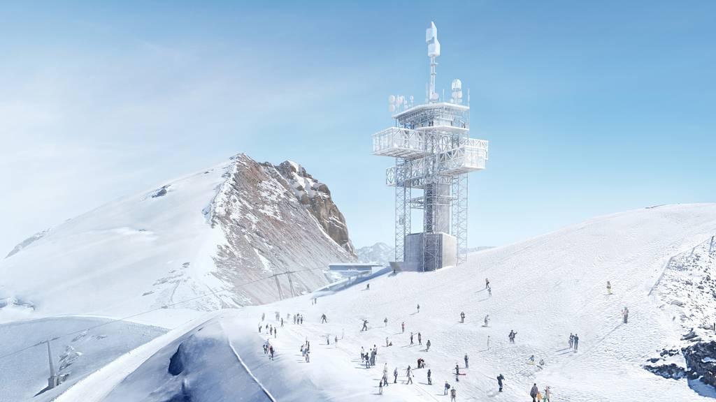 Das geplante Projekt «Titlis 3020» der Star-Architekten Herzog & de Meuron.