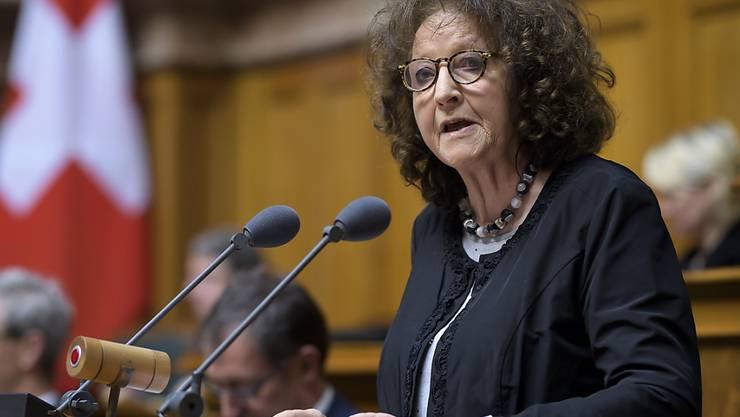 Eine von 48: Nationalrätin Bea Heim (SP/SO) tritt nicht zur Wiederwahl an. (Archivbild)