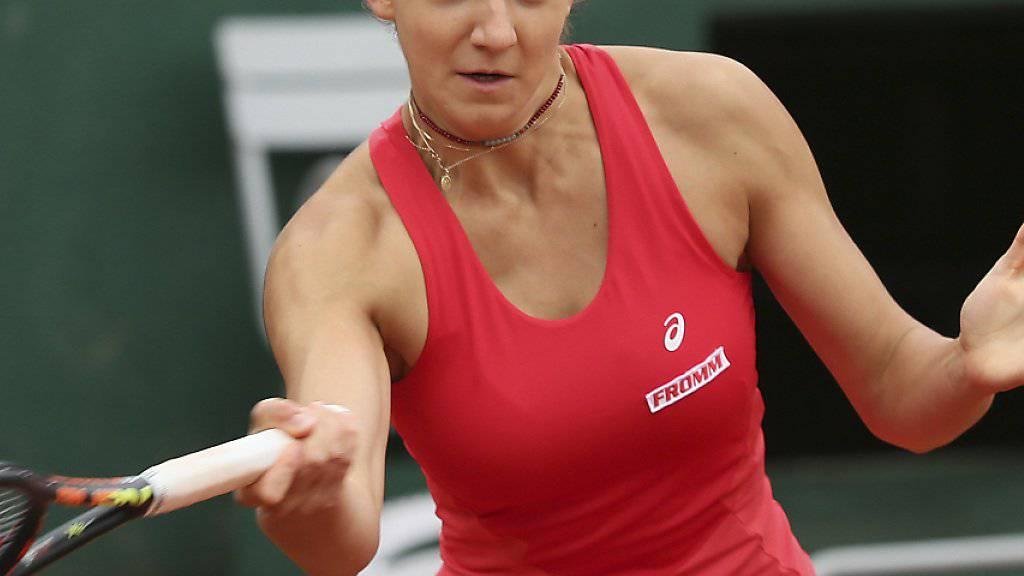Rebeka Masarova spielte ihren ersten Grand-Slam-Final