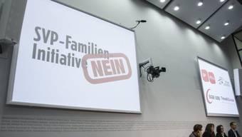 Linkes Nein-Komitee: nur wenige profitieren von SVP-Initiative