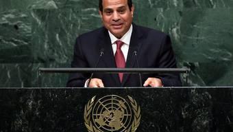 Ägyptens Präsident Abdel Fattah al-Sisi soll hinter verschlossenen Türen mit Israel verhandelt haben. (Archivbild)