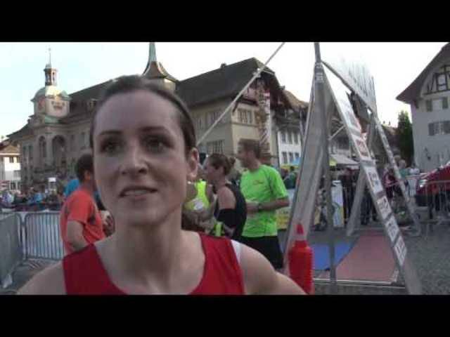 Zofinger Stadtlauf: Interview mit der Siegerin
