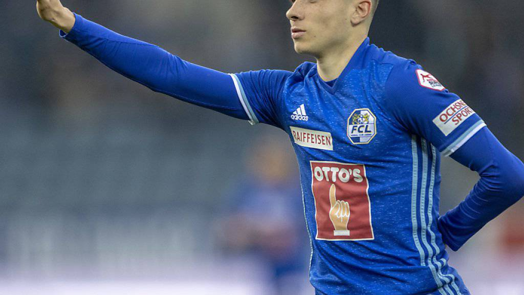 Ruben Vargas brachte seinen FC Luzern auf guten Kurs Richtung Europa League