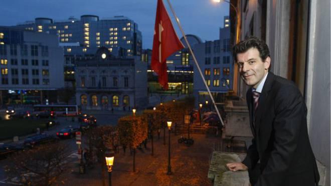 Roberto Balzaretti, Schweizer Botschafter in Brüssel. Foto: KEYSTONE
