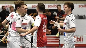 12:5, 8:6 und 9:4: Bis jetzt konnte in der Viertelfinalserie zwischen dem SV Wiler-Ersigen und dem UHC Uster nur der Titelverteidiger Wiler-Ersigen jubeln.