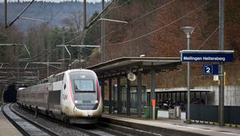 Seit dem Bau des Bahnhofs «Mellingen Heitersberg» steigt in umliegenden Gemeinden die Bautätigkeit