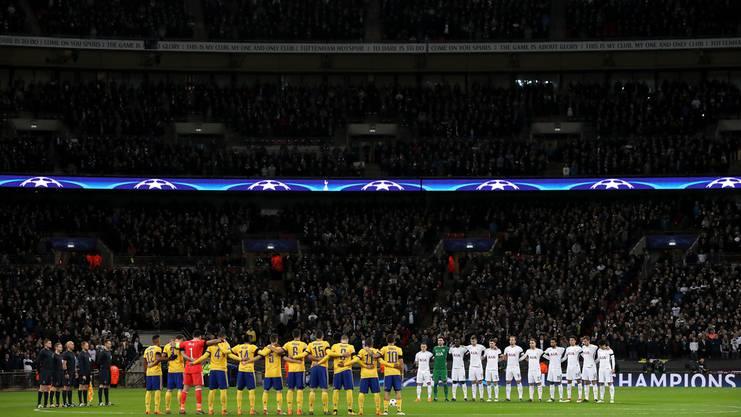 Schweigeminute vor Champions-League-Achtelfinal: Tottenham -Juventus Turin