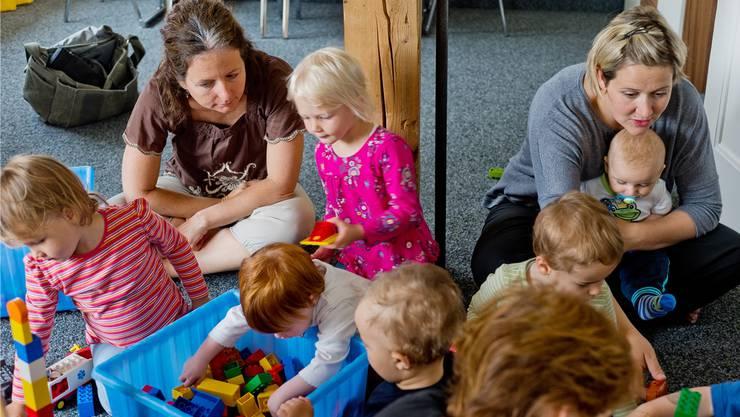Schon für die Kleinsten gibts Deutschkurse. (Archiv)