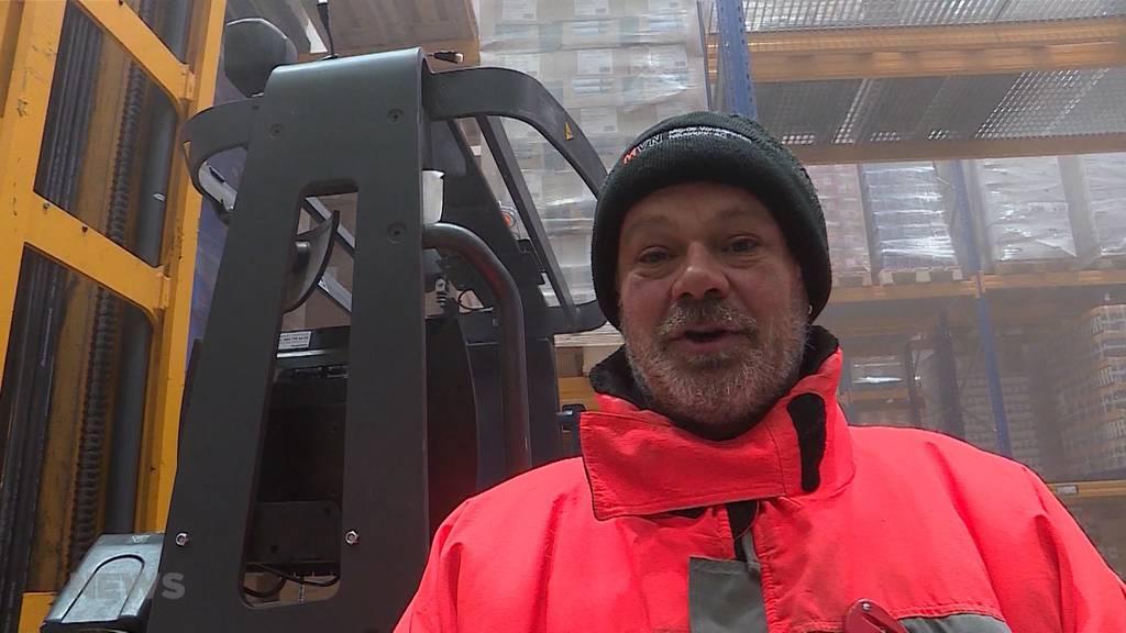 Traumjob Kühllager: Draussen Hitzewelle, drinnen eisige Temperaturen