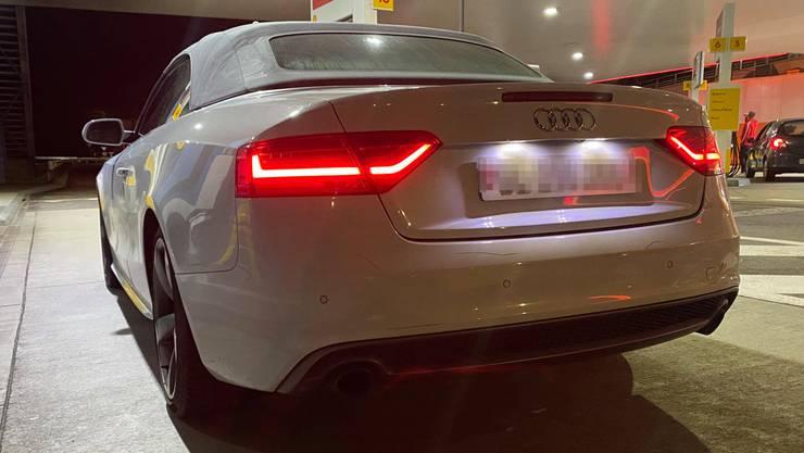 Dieser Audi machte viel Lärm...