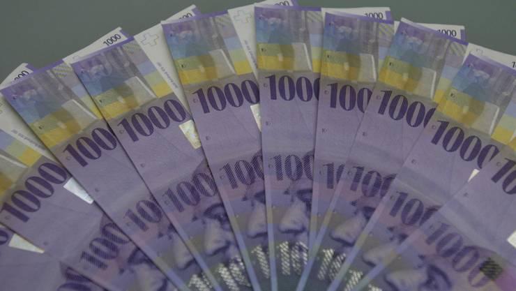 Der Kanton sparte viel davon ein: Geld.