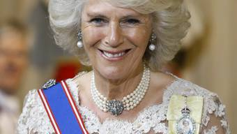 Solo in Frankreich: Herzogin Camilla (Archiv)