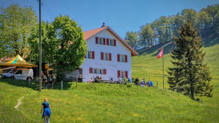 Das Berggasthaus Vogelberg in Lauwil BL
