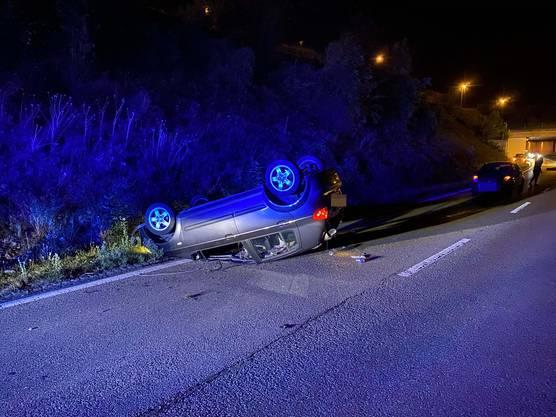 Der 23-jährige Autolenker hatte über eine Promille Alkohol intus.