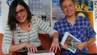 Musikethnologen: Theresa Beyer und Thomas Burkhalter. Susanna Petrin