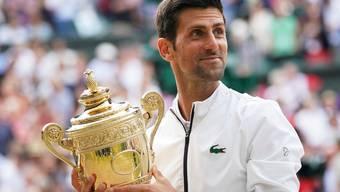 16-facher Grand-Slam-Sieger, 5-facher Wimbledon-Champion, Nummer 1 der Welt und vielleicht der beste Spieler der Geschichte: Novak Djokovic.