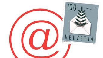 Mit einer digitalen Briefmarke für E-Mails könnte man Spams leicht aussieben.