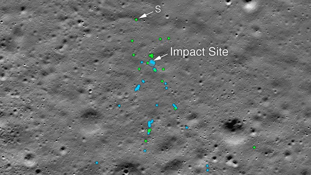 Nasa entdeckt abgestürztes indisches Landemodul auf dem Mond