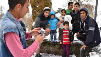 Tag der offenen Tür im Asylzentrum auf der Fridau in Egerkingen