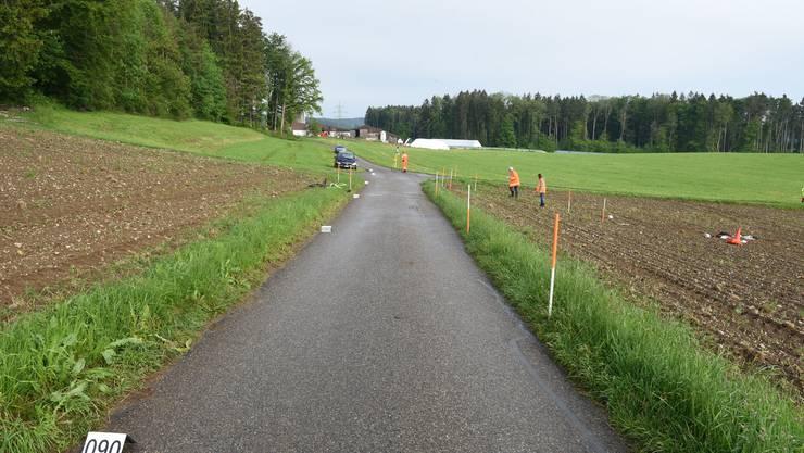 Verkehrsunfall in Ottikon b. Kemptthal.