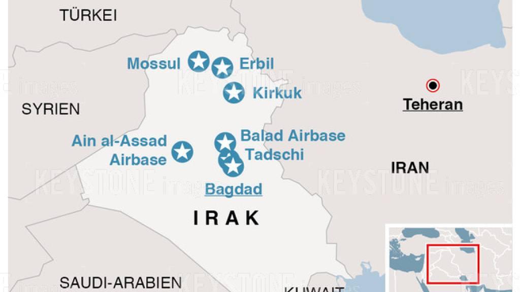 USA korrigieren Verletztenzahl nach Irans Raketenangriff nach oben