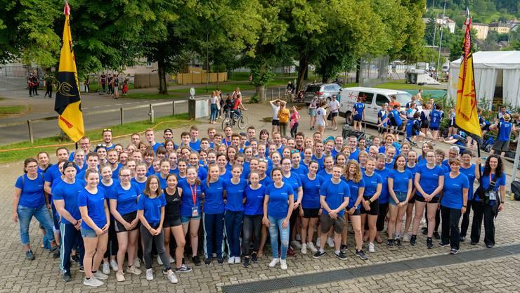 Gruppenfoto SATUS + STV Möriken-Wildegg