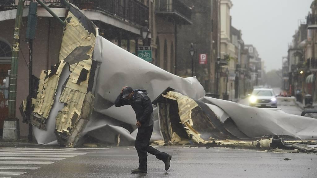Überflutungen, Schäden und Stromausfälle nach Hurrikan «Ida»