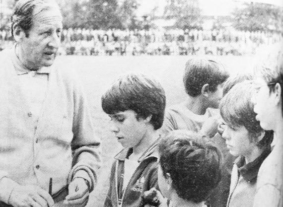 Helmuth Johannsen war 1981 ein gefragter Mann auf der Dornau.