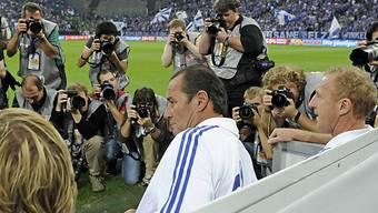 Sieg beim Comeback auf Schalke: Huub Stevens