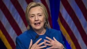 Hillary Clinton über ihre grosse Enttäuschung