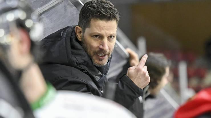 Trainer Chris Bartolone (Olten)