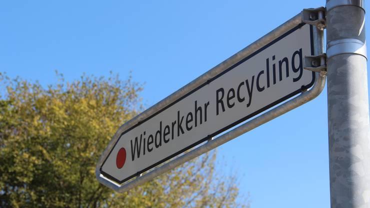 Die Wiederkehr Recycling AG will das Recyclingvolumen erhöhen.