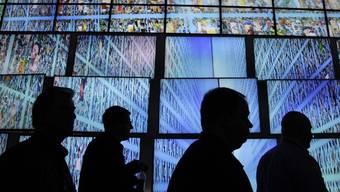 HDTV-Bildschirme von LG an einer Messe im Januar 2011 in Las Vegas (Archiv)