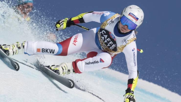 Corinne Suter hat sich ihren Platz im olympischen Super-G von Pyeongchang gesichert