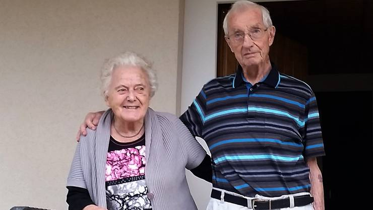 Lucie und Eugen Kiener-Kissling sind seit 65 Jahren ein Paar.